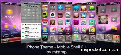 iPhone Theme for SPB Mobile Shell