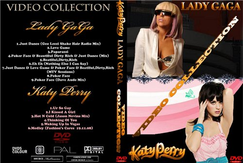 Lady GaGa & Katy Perry - Video Collection (2009г)